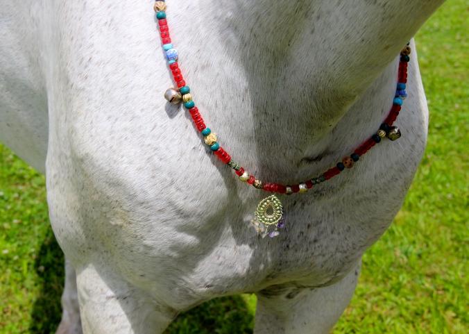 My homemade rhythm beads on Mystic