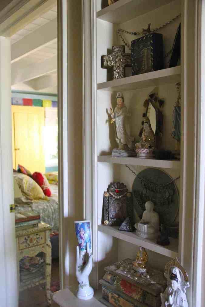 Hallway altar
